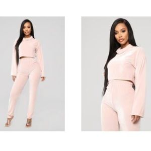 Fashion nova as soft as you thought corduroy set